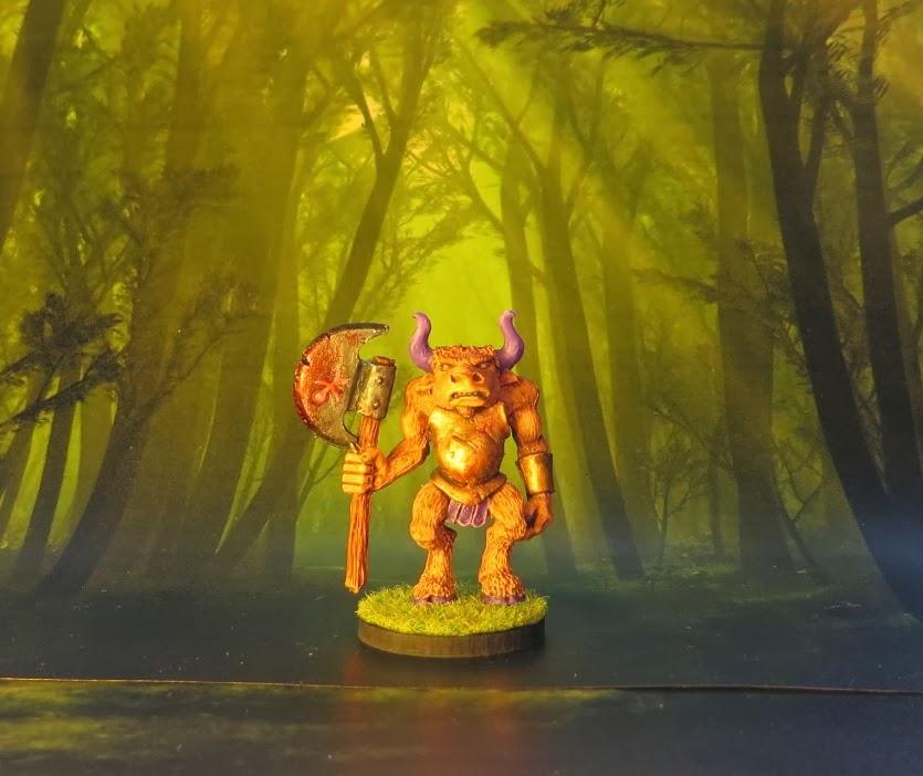Minotaur, Games, Workshop, Marauder, Miniatures, 1990, Aly, Trish, Morrison, Monster, MM42
