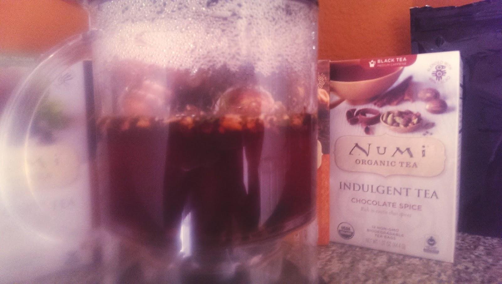 Justine Numi Organic Tea Recently Launched Justine's Blend Loose Leaf Tea