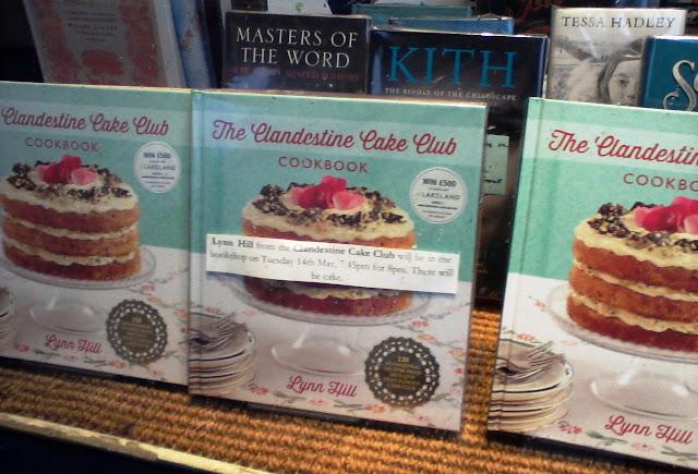 Clandestine Cake Club book display