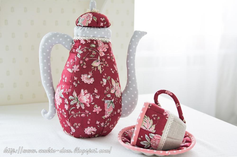 Текстильные чайники своими руками 4245