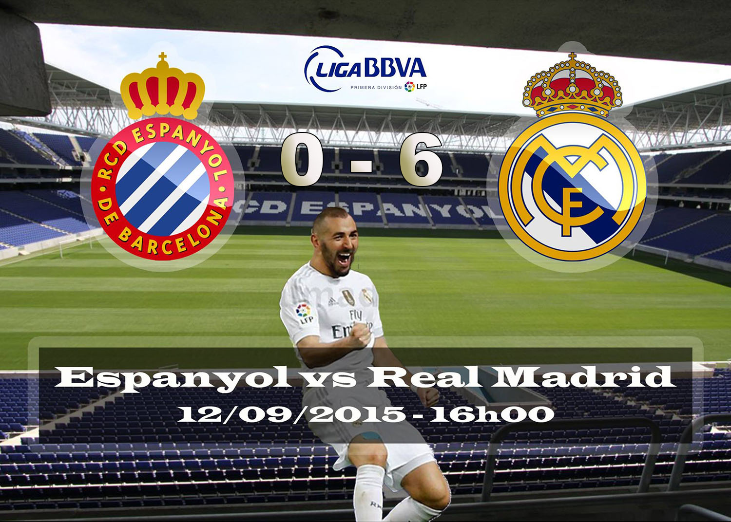Real madrid tv espanyol 0 6 real madrid for Real madrid tv