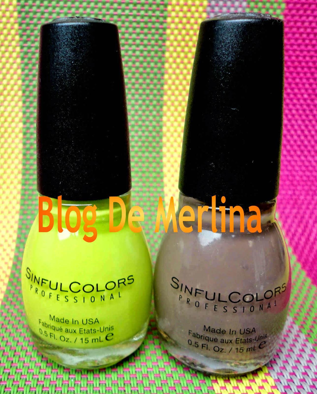 Esmaltes SINFULCOLORS PROFESSIONAL ~ Maquillaje... Tips, Productos y ...