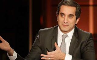 """عرض الحلقة الأولى من برنامج باسم يوسف """"أميركا بالعربي"""" على شاشة """"يا هلا شباب"""" على شبكة الليلة OSN"""