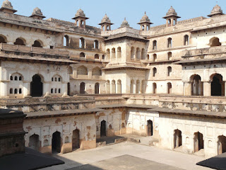 Reisen Indien Orchha