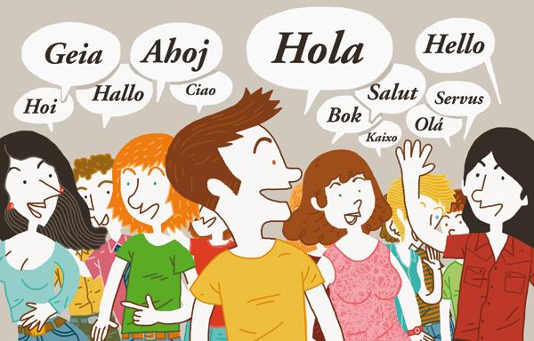 hablar lengua: