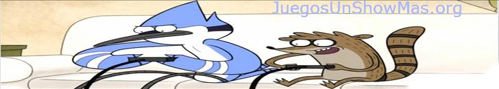 Juegos de un show mas  - Mordecai y Rigby