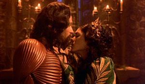 Gary Oldman y Winona Ryder en Drácula de Bram Stoker