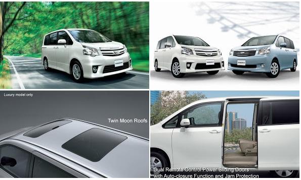 tampilan eksterior NAV1/NOAH MPV Toyota