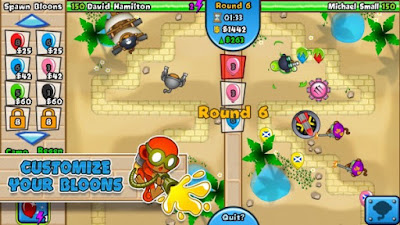 ScreenShot: Bloons TD Battles for Android