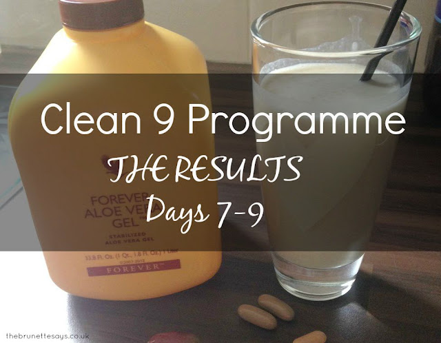 Clean 9, C9, Forever Living, Aloe Vera, Results, Review