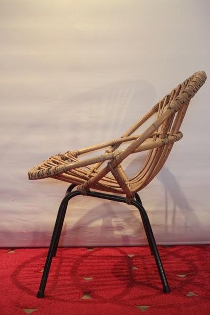 Chicbaazar objets vintage 50 60 70 fauteuils coquille - Miroir chaty vallauris prix ...