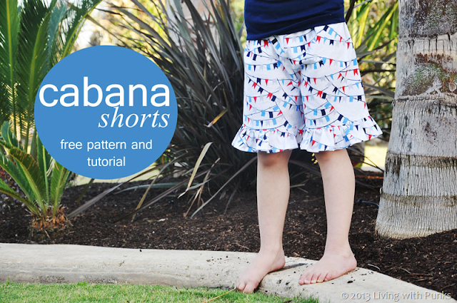 Cabana Shorts Sewing Tutorial