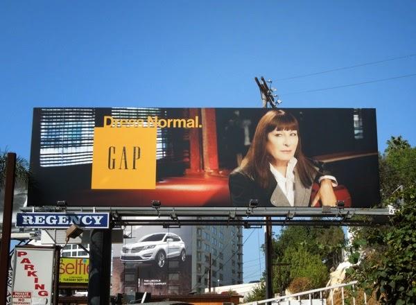 Angelica Huston Gap Dress Normal Fall 2014 billboard