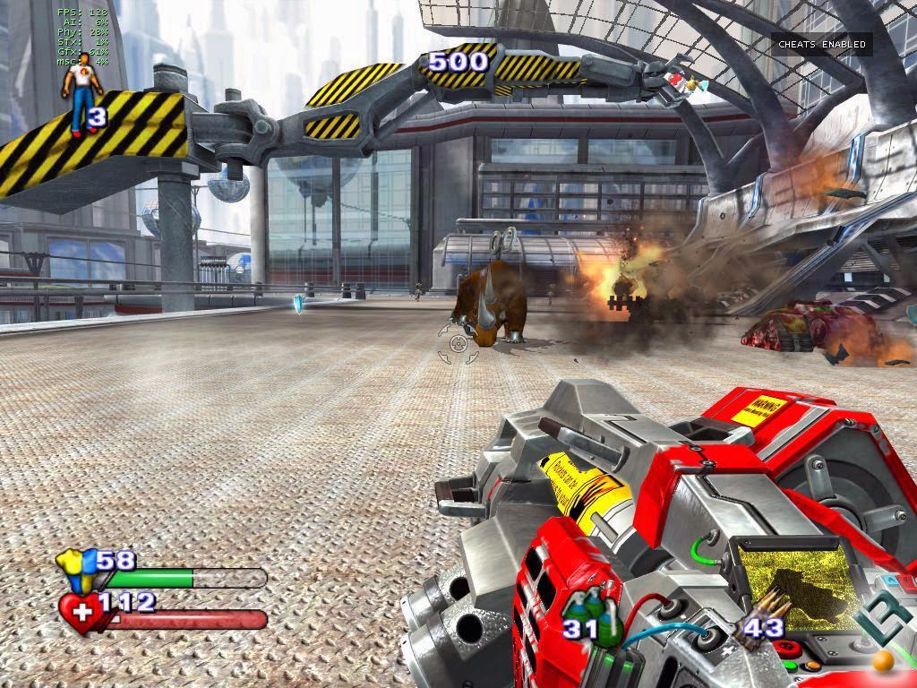 شرح تحميل وتتبيث لعبة Serious Sam 2 مضغوطة بحجم 540MB شرح تحميل وتتبيث لعبة Serious Sam 2 مضغوطة بحجم 540MB
