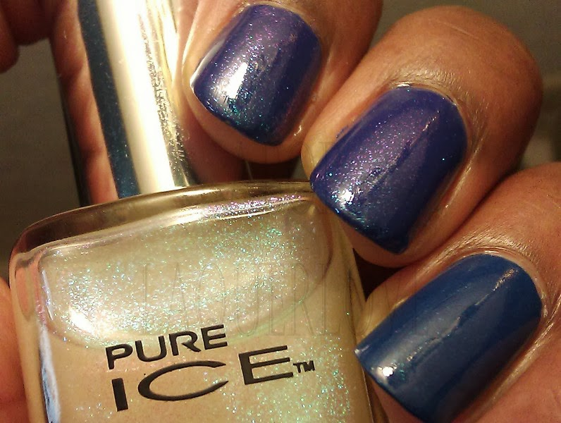 Another Bottle Of Polish Avon On Point Blue Forget