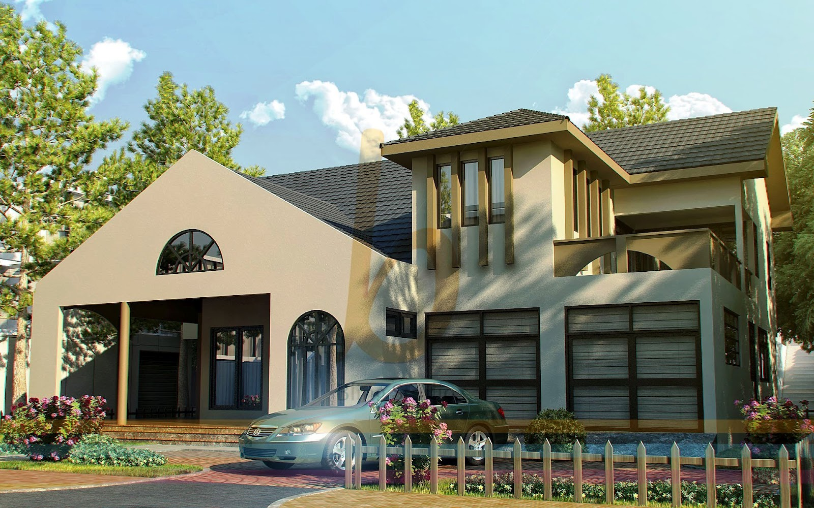 Modern House Design in Pakistan Lahore