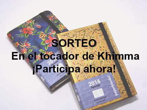 Sorteo en el facebook de El tocador de Khimma