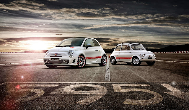 Fiat+Abarth+595+50th+Anniversary+Edition+3 Lamborghini Huracan LP 610 4: Yep, Its the New Baby Lambo [Video]