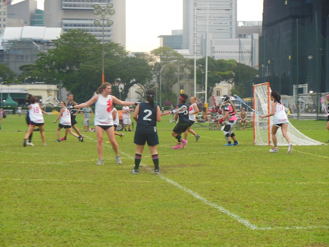 Lacrosse, Singapore Hong-Kong match, Padang, 20 April 2013, SLA, Brewerkz