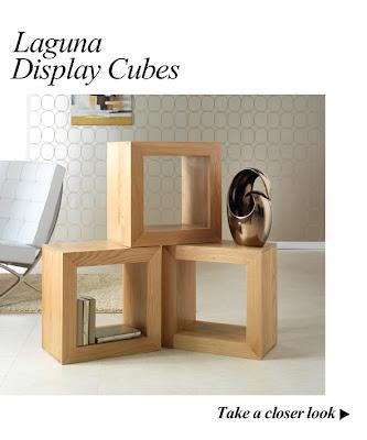 Laguna Oak 3 Hole Room Divider Set from Furniture123