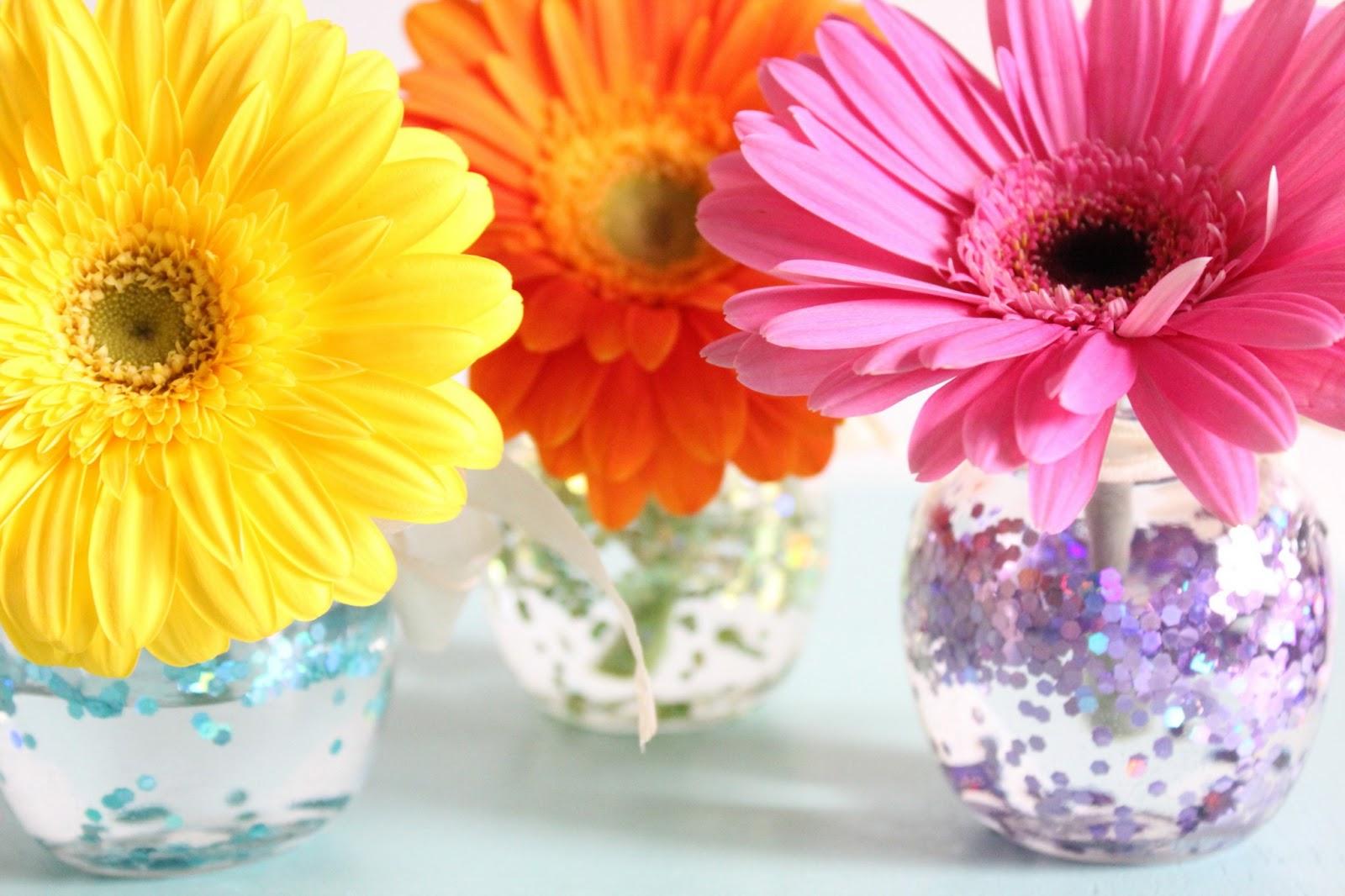Theresa Joy : 365 Days of Pinterest Day 20 - Shimmer Flower Vase on pinterest flower ring, pinterest flower roses, pinterest flower pot, pinterest coffee mugs, pinterest flower wall, pinterest fashion trends, pinterest jar, pinterest flower boxes, pinterest urns, pinterest crafts, pinterest wind chimes, pinterest chandeliers, pinterest flower pen,