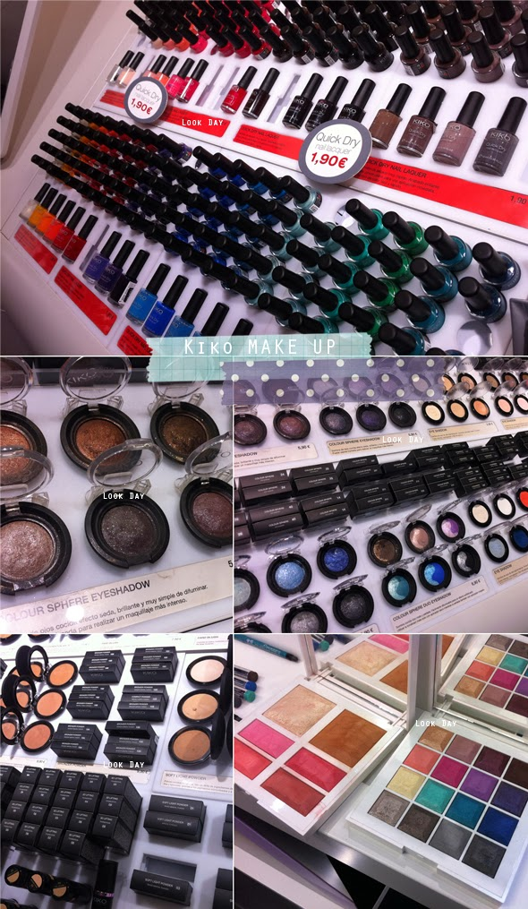 Look day kiko make up - Hm calle orense ...