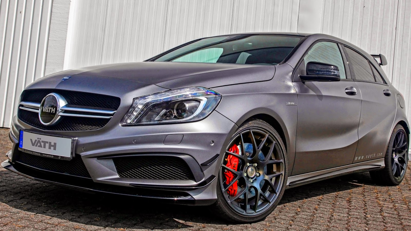 vaeth mercedes benz a 45 s amg 2014 aro 20 2 0 turbo 425