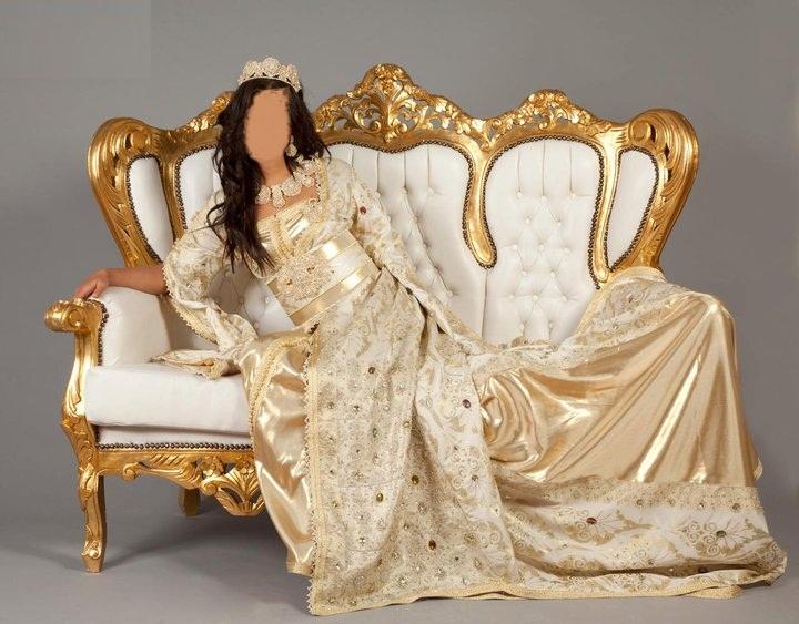 caftan de mariage marocain