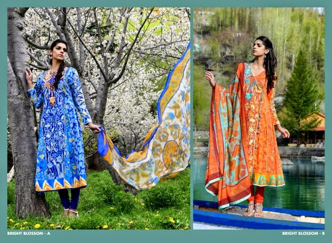 WardaSaleemLawn2014ByShariqTextile wwwfashionhuntworldblogspot 6  - Warda Saleem Lawn Collection 2014 By Shariq Textile