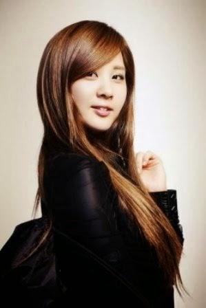 rambut korea panjang