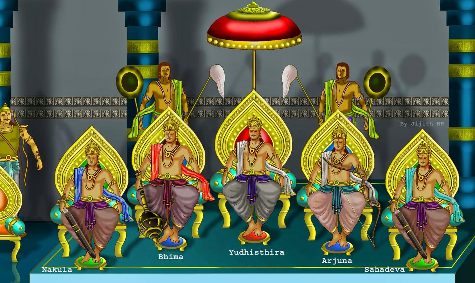 Five Pandavas