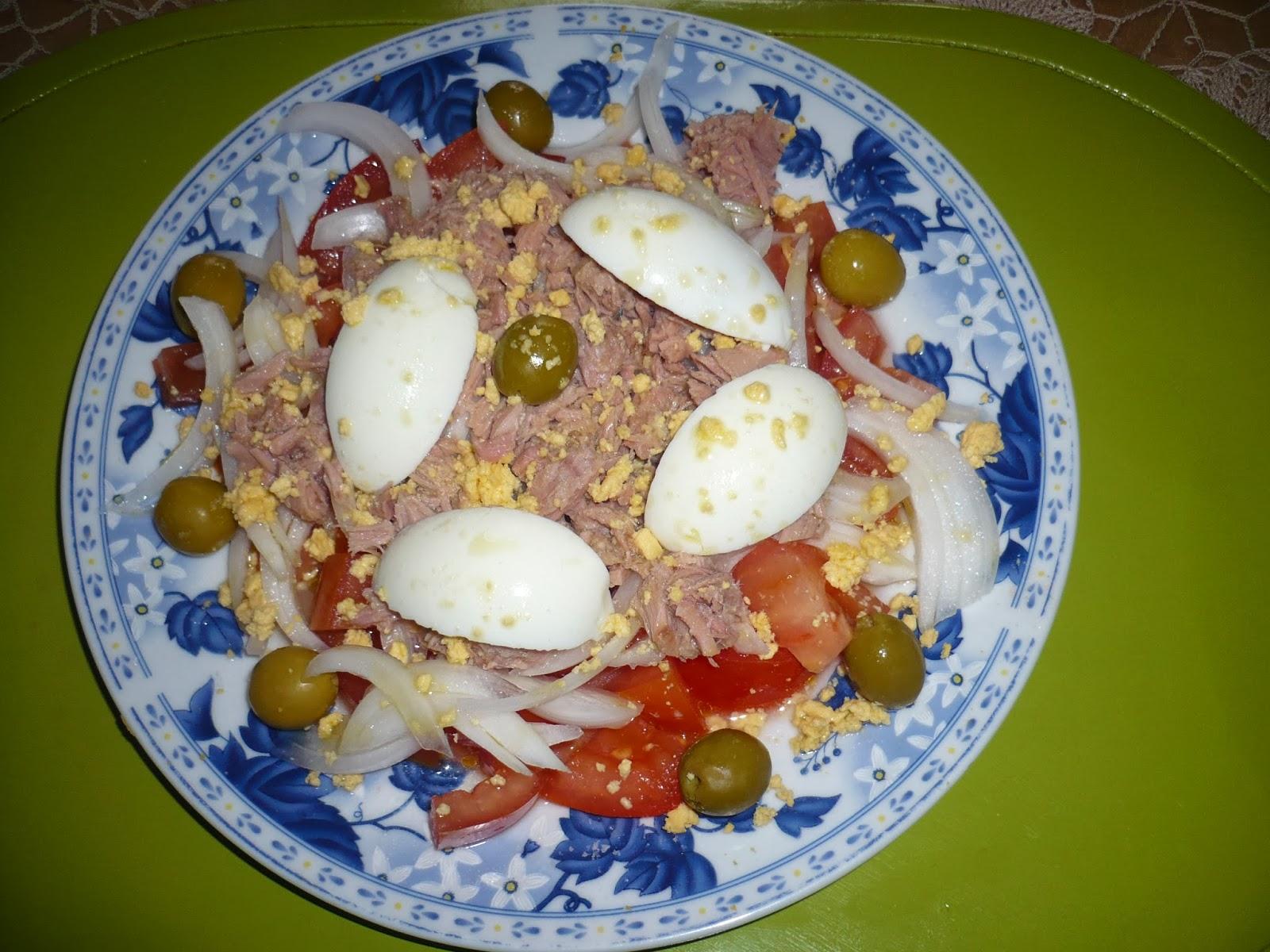En la cocina con ana dieta pp ensalada murciana - Ana en la cocina ...