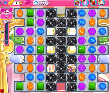 Candy Crush Saga 1021