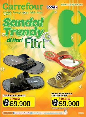 carredour sandal Katalog Carrefour Edisi Sandal Trendy Periode 1   27 Agustus 2013