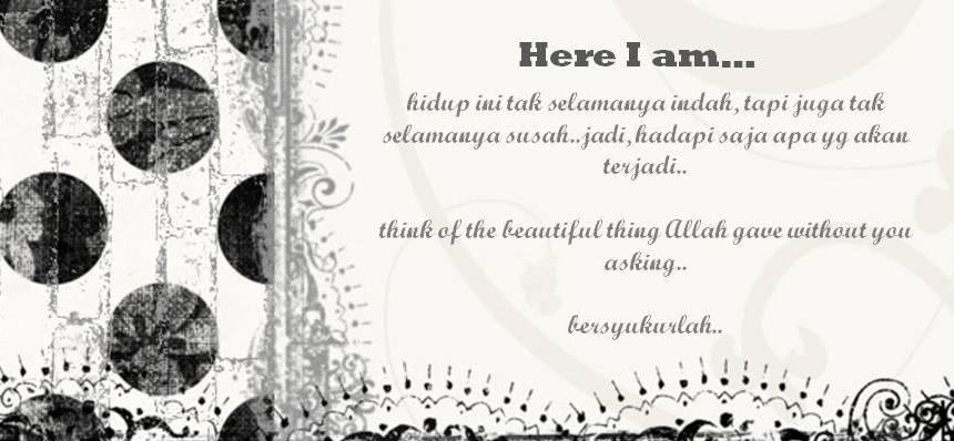 Here I am...