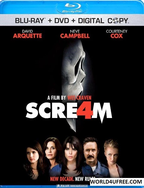 Scream 4 2011 Hindi Dubbed Dual BRRip 720p