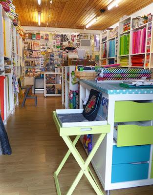 Nyindrettet butik med meget inspiration