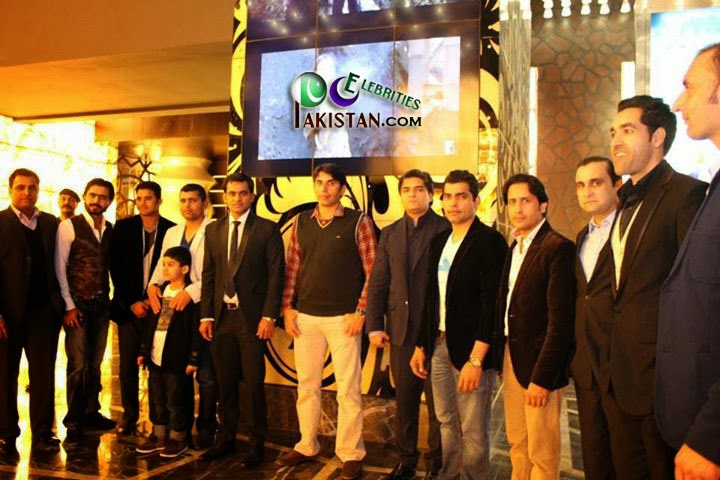 Pakistani Players Visited Cine Gold