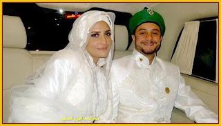 الفنان المصري أحمد الفيشاوي وزوجته اللبنانية رولا ديبس