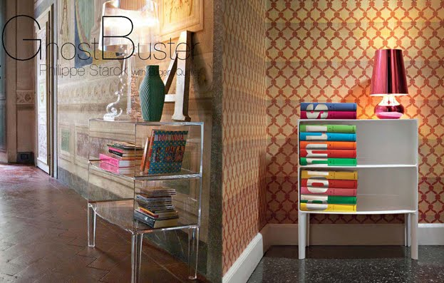 Kartell Ghost Buster Large Modern Storage Unit By Philippe Starck