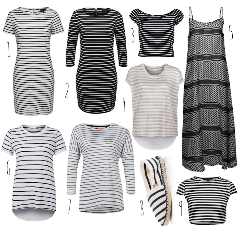 Streifen_Crop_Top_Shirt_Kleid_Schuhe_Outfit_kombinieren_ViktoriaSarina