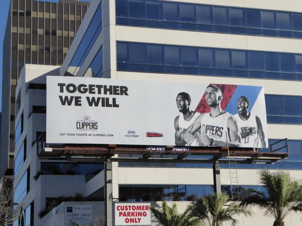 Clippers Together we will billboard