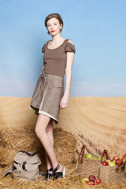 ropa ecológica primavera verano 2011