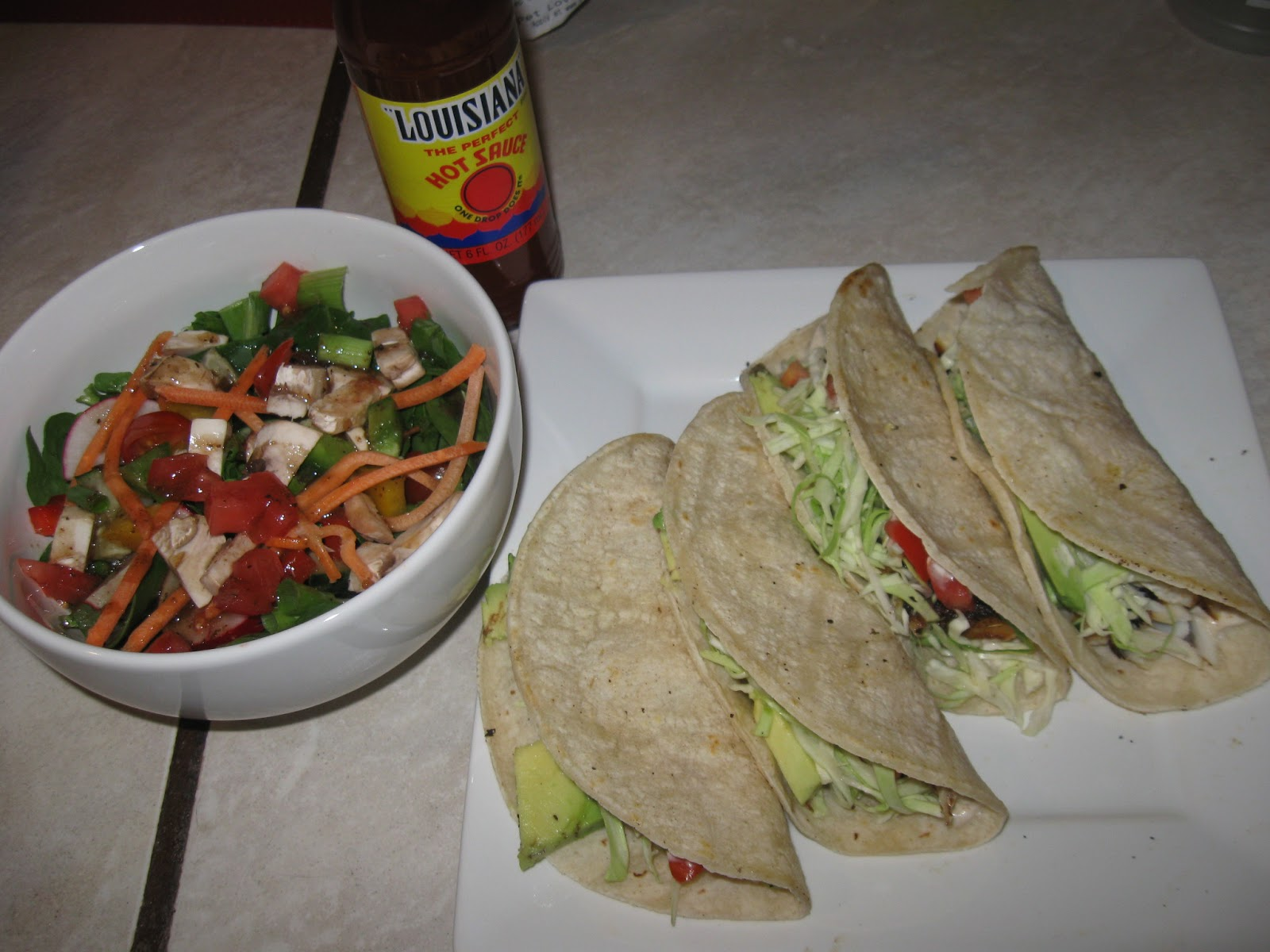 Heather 39 s eden recipe fish tacos with white sauce for Fish taco white sauce
