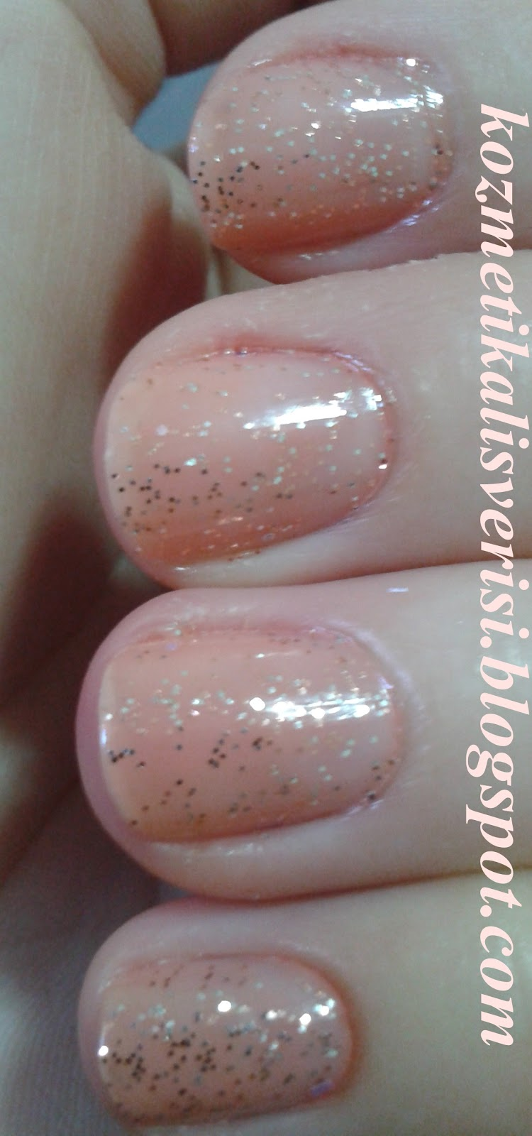 Pastel New Year Glitter Nail Polish 316