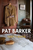 book review, new release book, Toby's Room, Pat Barker