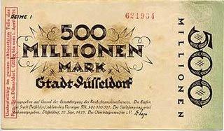 Inflacion Alemania 1920