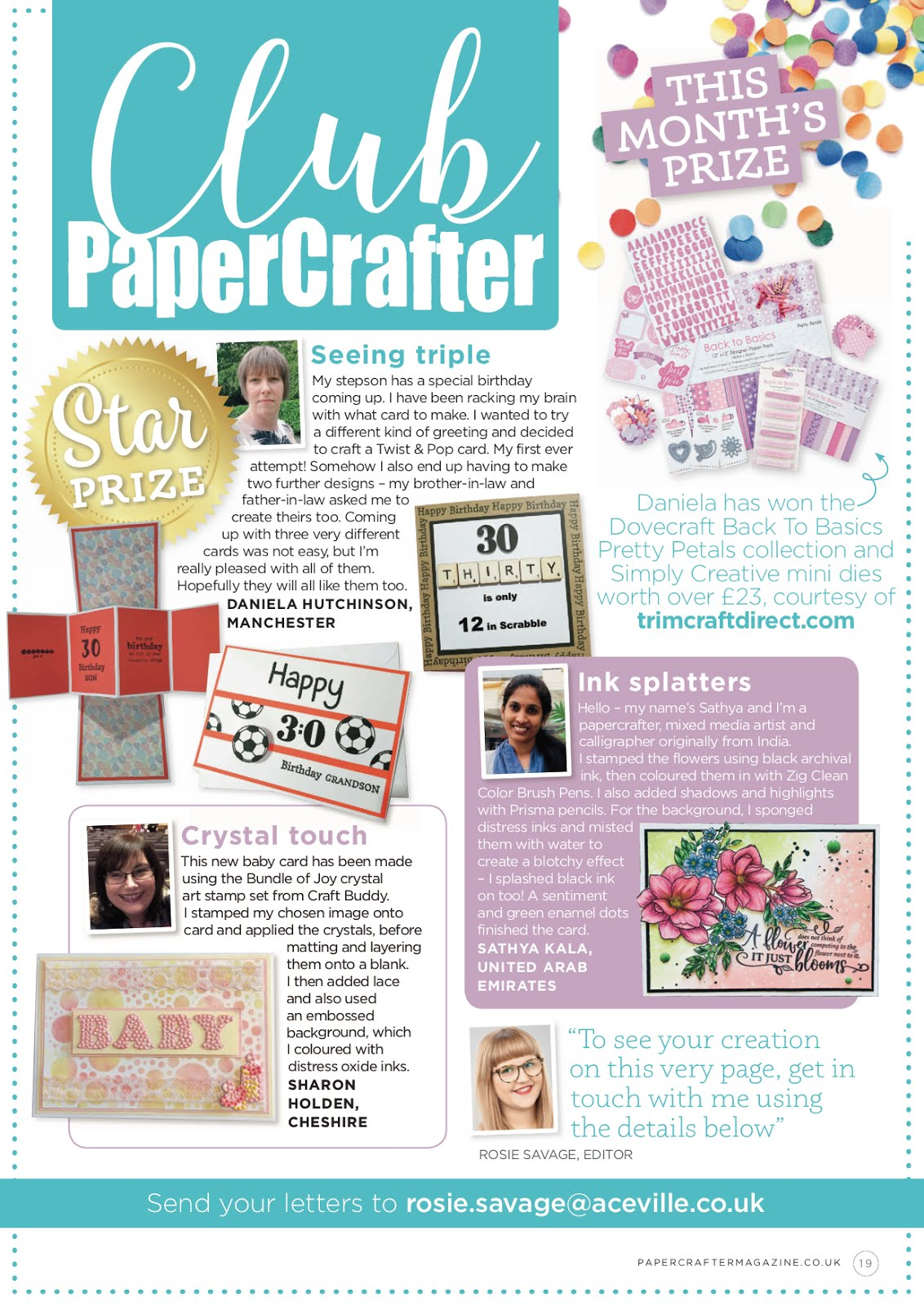 In Papercrafter Magazine Issue-133 '19