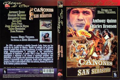 Los cañones de San Sebastián | 1968 | La bataille de San Sebastian, Cover Dvd Caratula