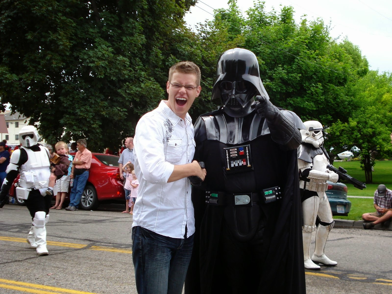 ... and I'm friends with Darth Vader